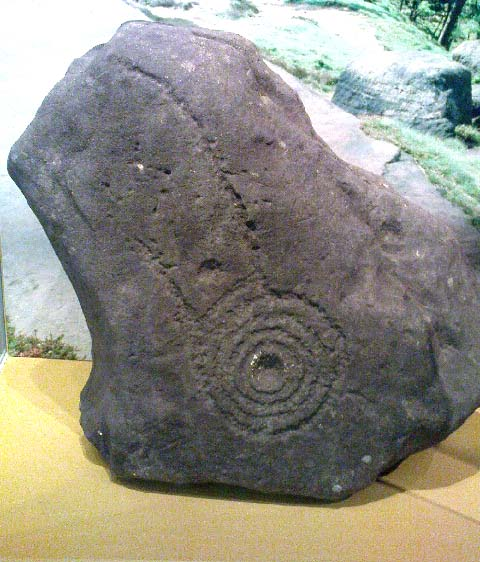 comet stone petroglyph spiral