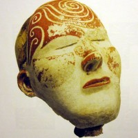 death mask Russia gypsum with pigment 300 AD 1 200x200 Ancient Spirals