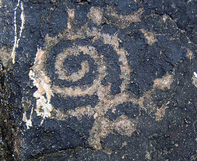 Deer Valley Spiral Petroglyph
