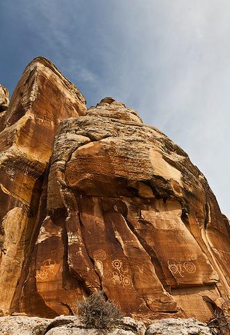 Dry Fork Petroglyph 4
