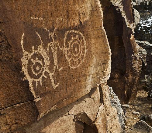 Dry Fork Petroglyph