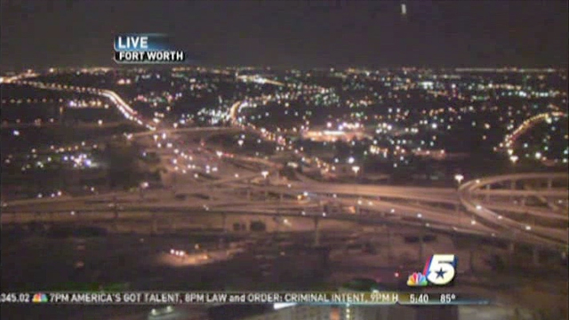 fort worth sky cam ufo 2 UFO spotted in LIVE NBC News SkyCam at Fort Worth, TX