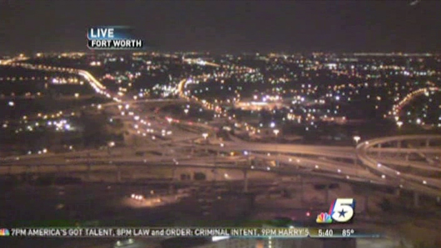 fort worth ufo spotted on nbc news skycam UFO spotted in LIVE NBC News SkyCam at Fort Worth, TX