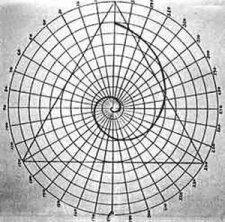 Golden Ratio Sacred Spiral