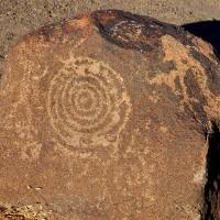 hohokam concentric circle petroglyph1 200x200 Ancient Spirals