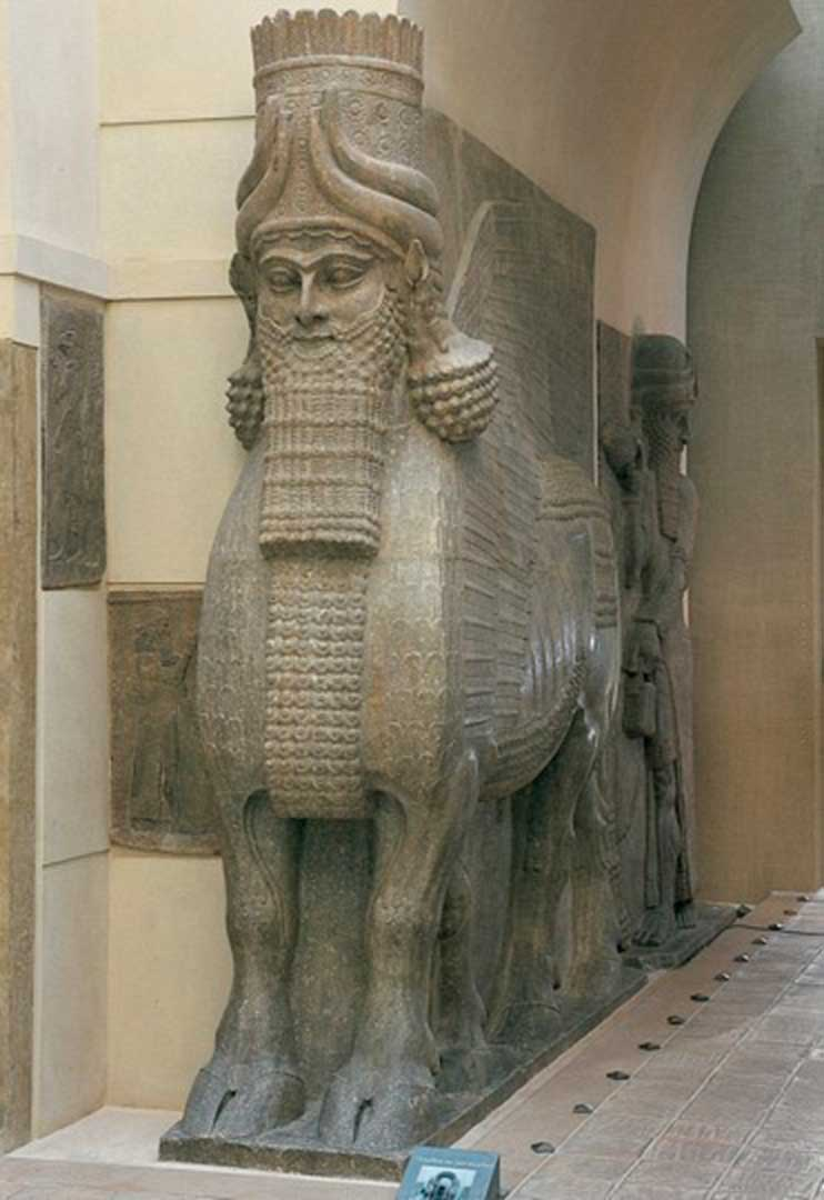 lamassu - man, Lord of Creation