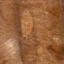 rock art spiral