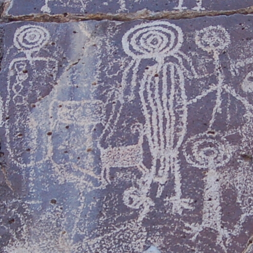 Shaman Petroglyph Coso