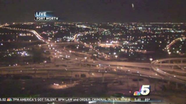 skycam ufo fort worth texas nbc news UFO spotted in LIVE NBC News SkyCam at Fort Worth, TX