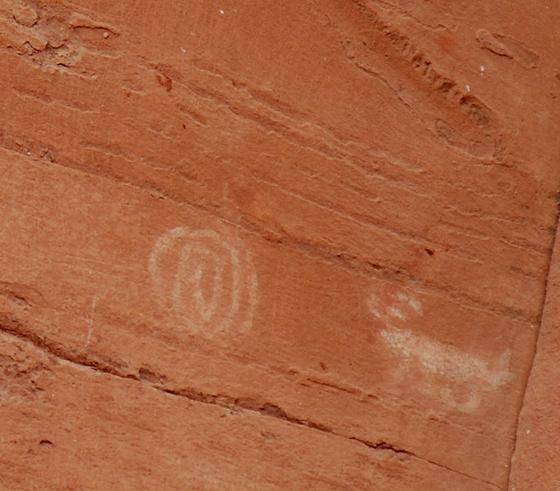 spiral and animal petroglyphs honanki sinagua ruins az