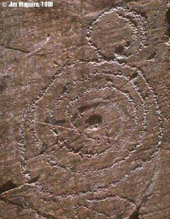 stone spiral carving