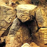 tasmania west petroglyph1 200x200 Ancient Spirals