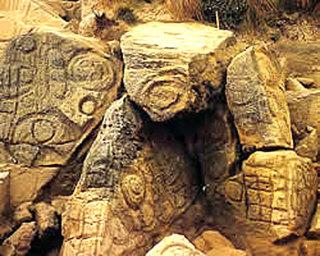 tasmania west petroglyph