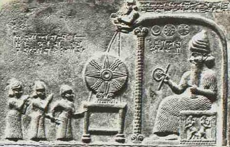 the Anunnaki of Sumerian Mythology - Giant Wheel