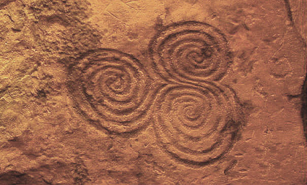 tri-spiral newgrange