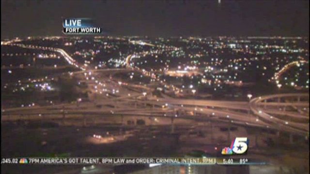 ufo over fort worth tx skycam 1 UFO spotted in LIVE NBC News SkyCam at Fort Worth, TX