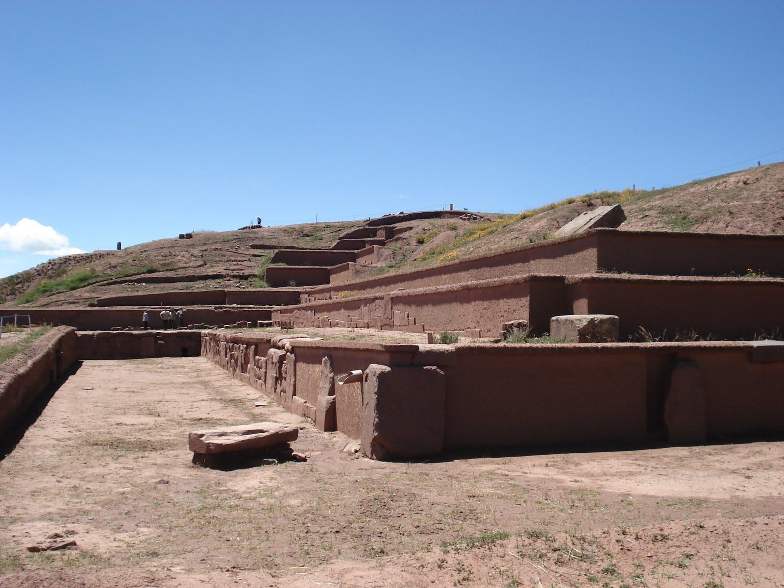 Akapana Pyramid Boliva Tiahuanaco