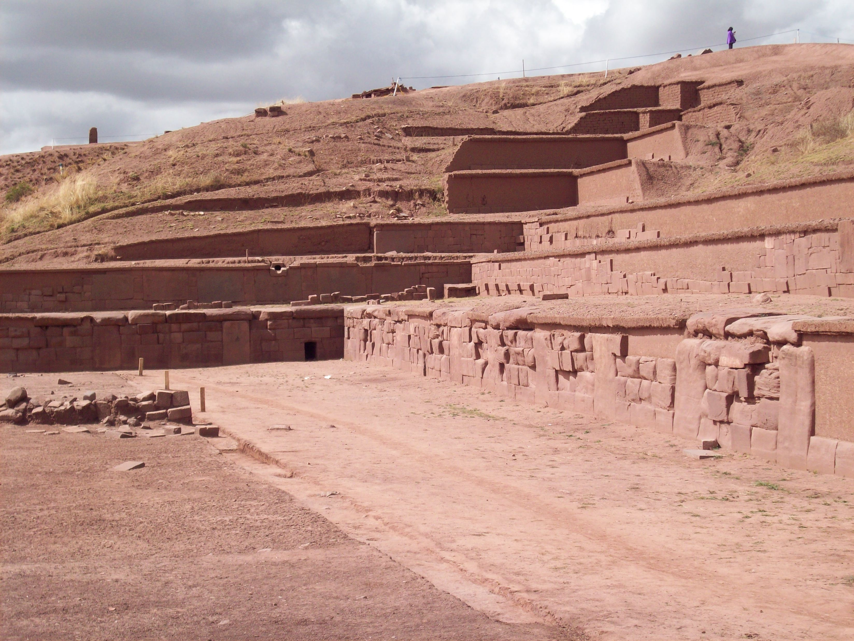 Akapana Pyramid, Bolivia, Pumapunku