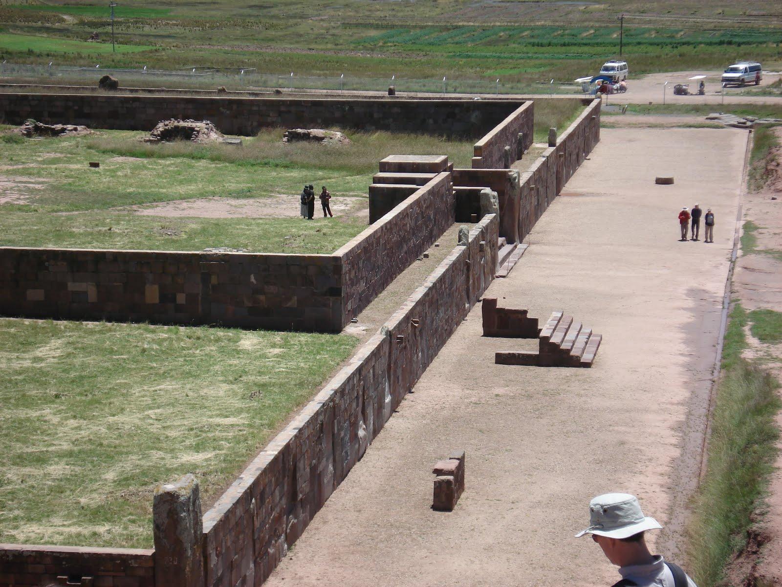 Ancient Akapana Pyramid Pumapunku Tiwanaku