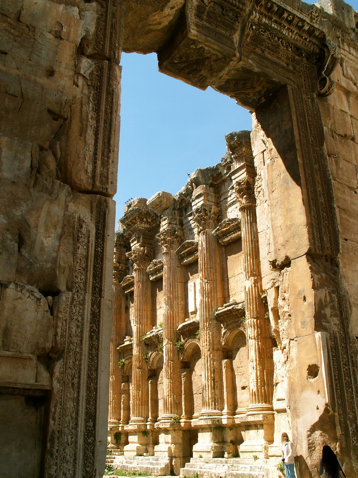 Ancient City of Baalbek Bacchus