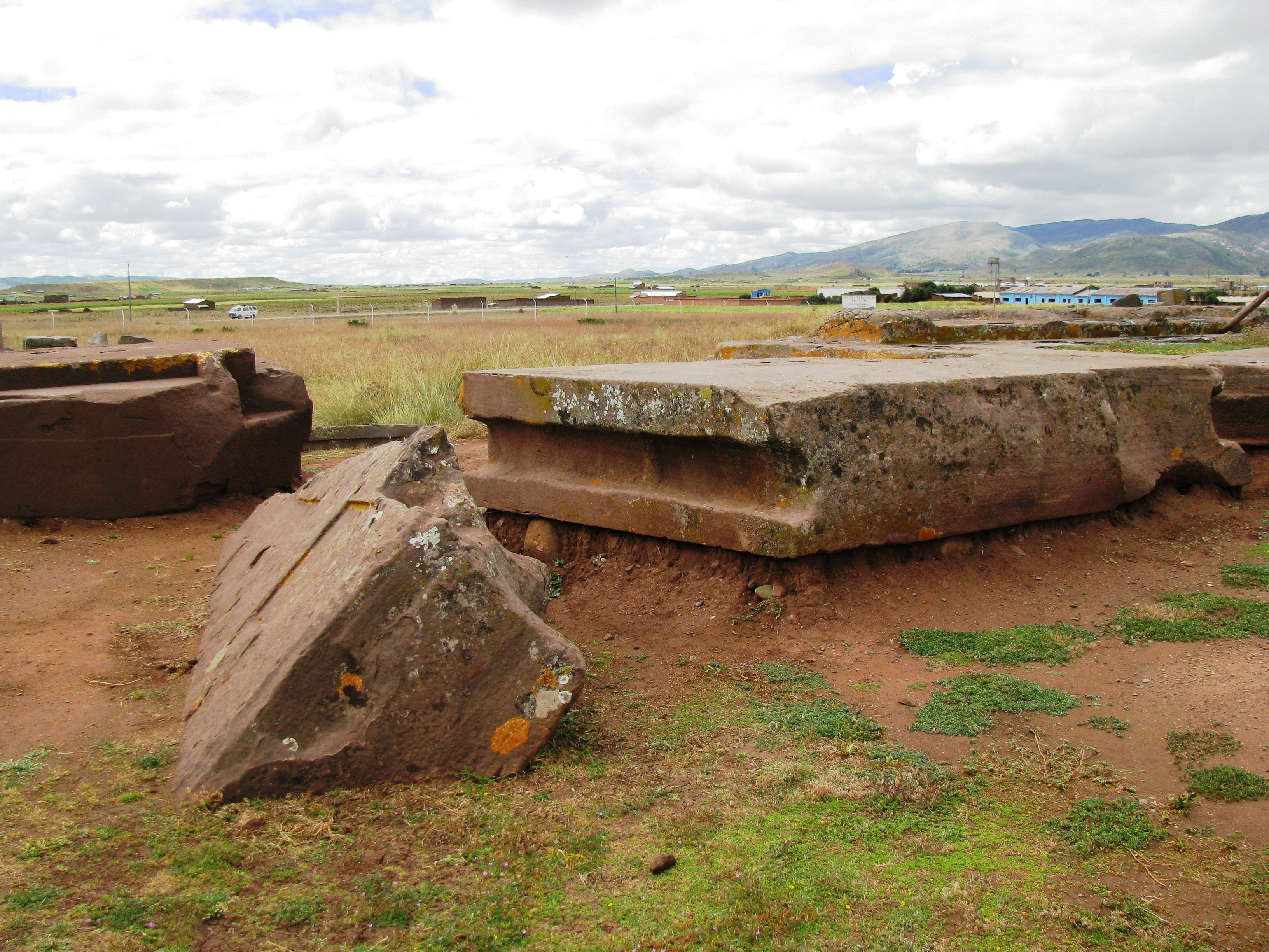 Ancient Devistation - Destroyed city of Pumapunku