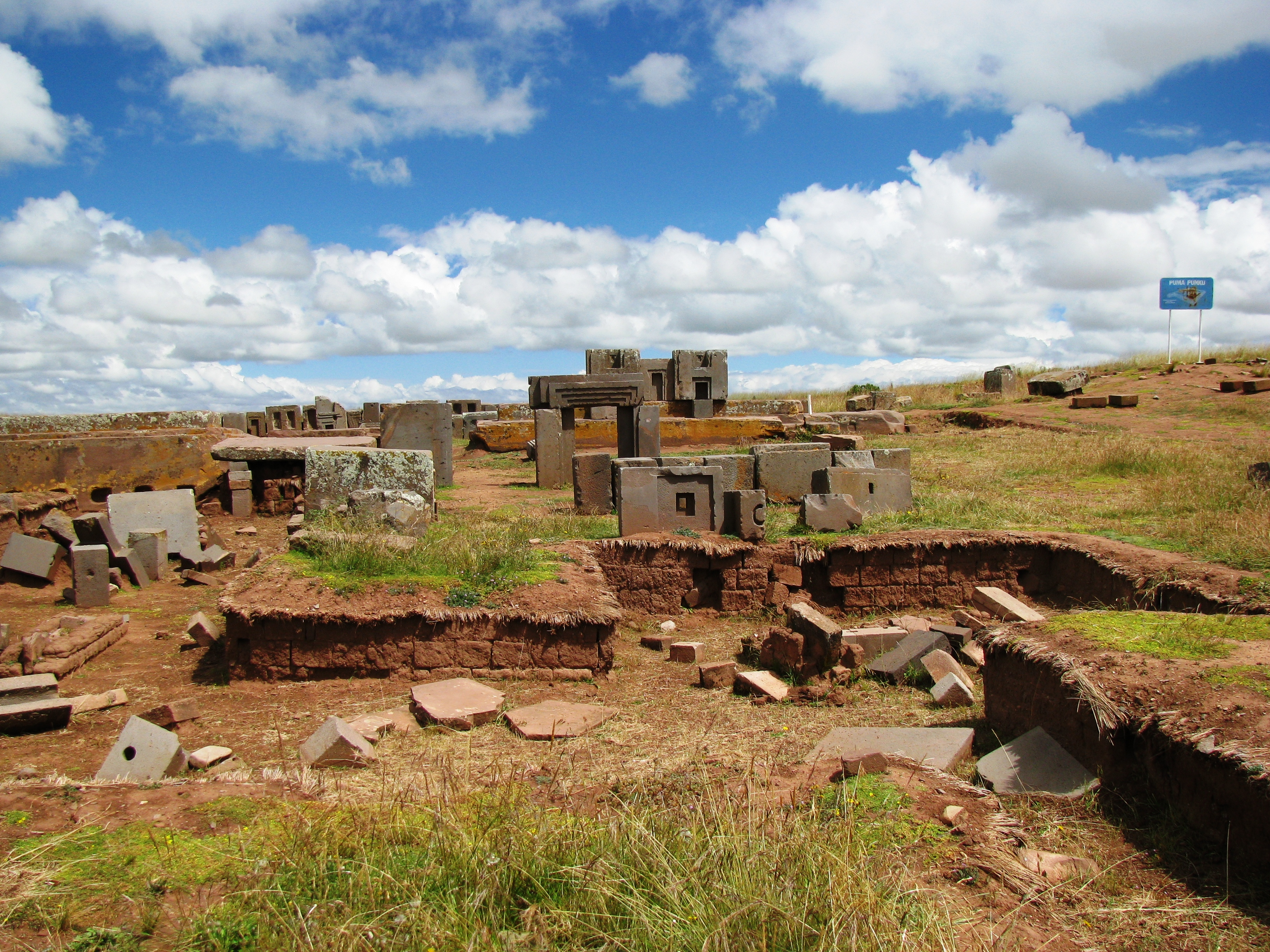 Ancient Megalithic City of Pumapunku