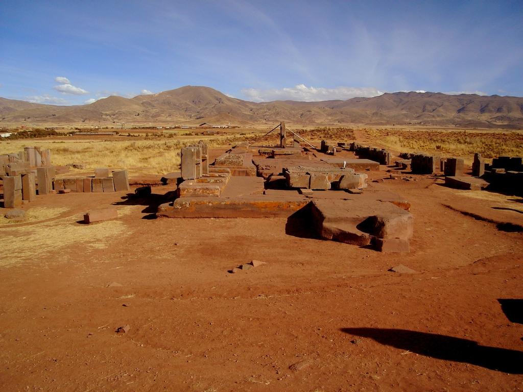 Ancient Mystery - Destroyed City of Pumapunku - Tiwanaku, Bolivia
