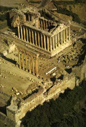 Ancient Roman Temple on site of Baalbek