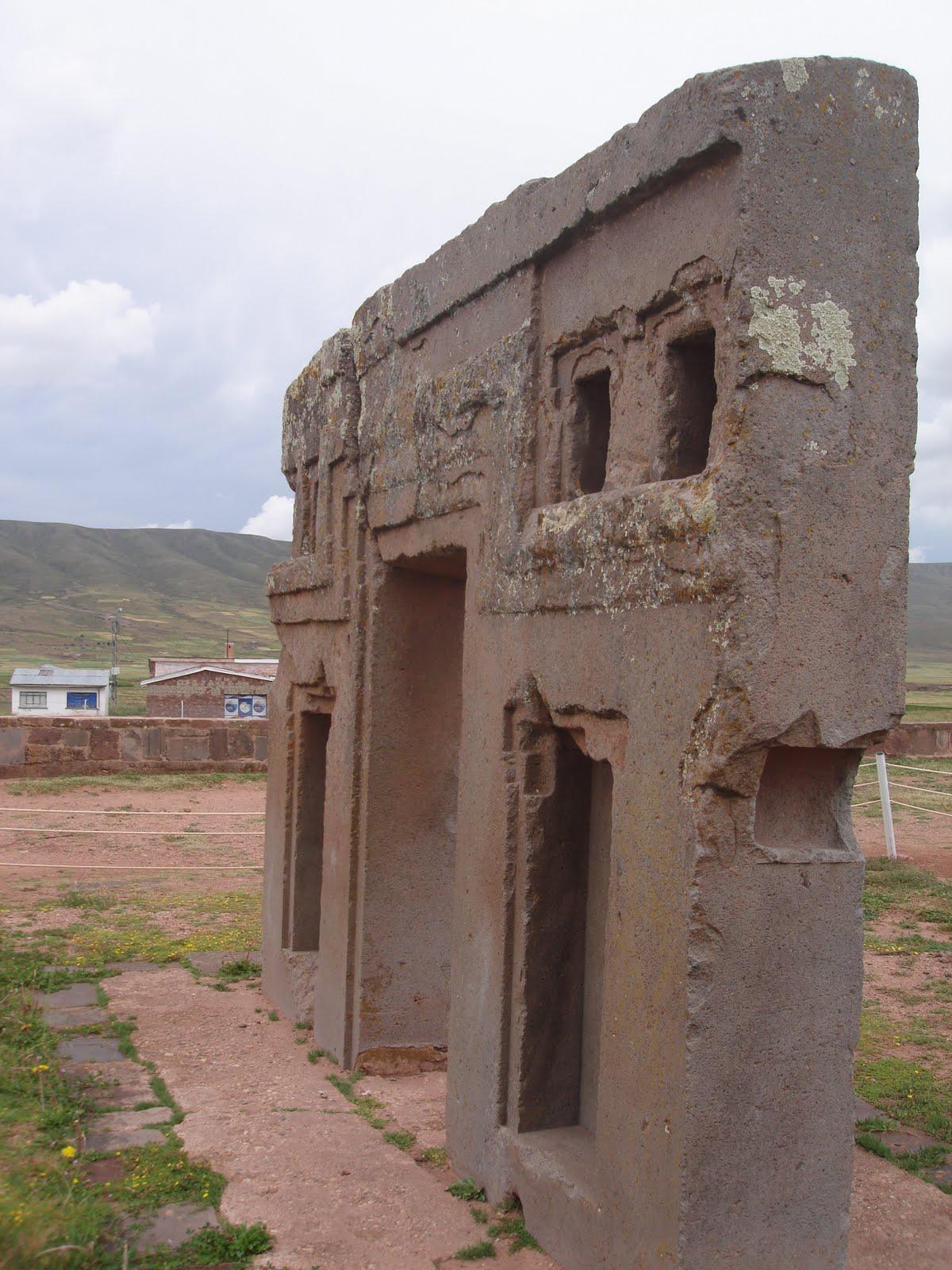 Ancient Stargate Gateway to the Sun Pumapunku