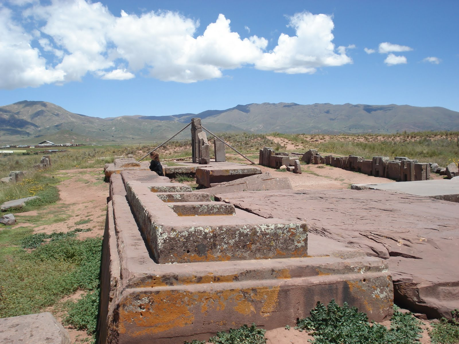 Andes Mountains Pumapunku Plateau