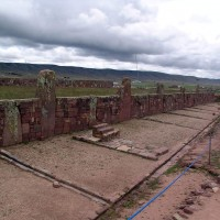 Archaeology of Bolivia at Akapana Pyramid Tiwanaku 200x200 Pumapunku