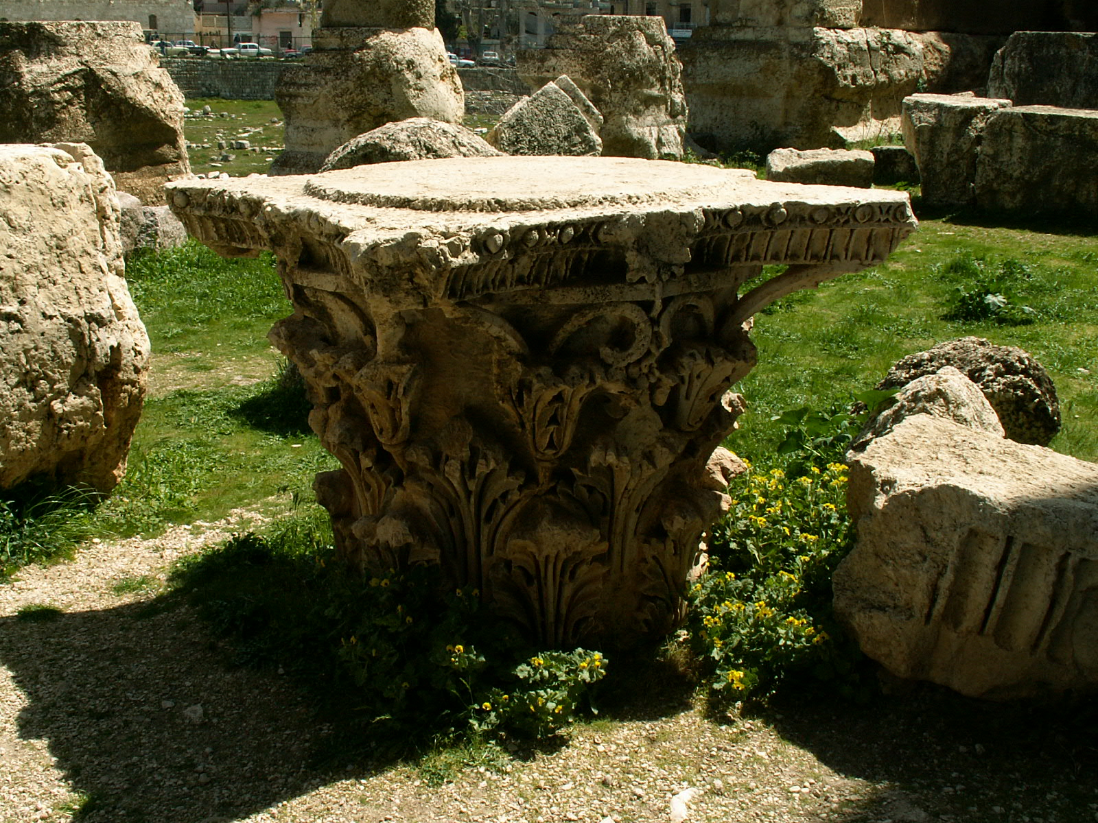 Baalbek Ancient Art Stone Megalith Artwork