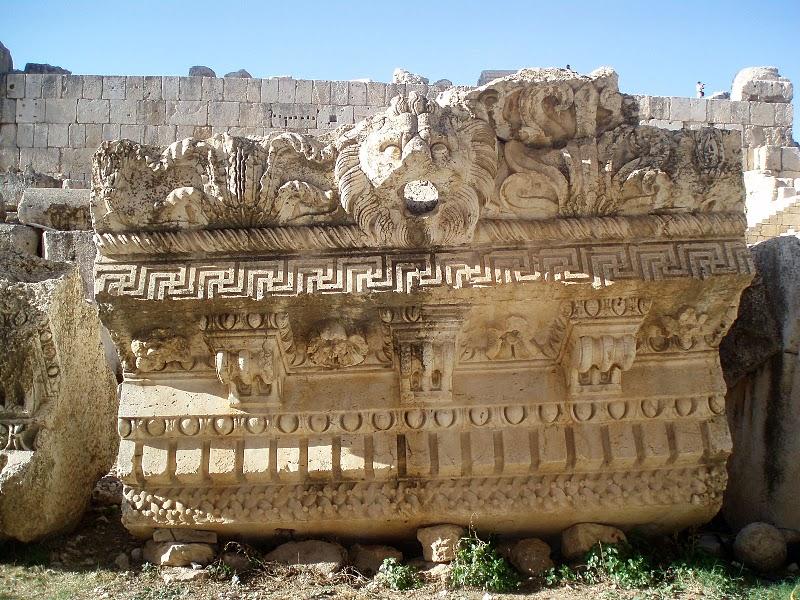 Baalbek Ancient Decorative Designs Lost Technology
