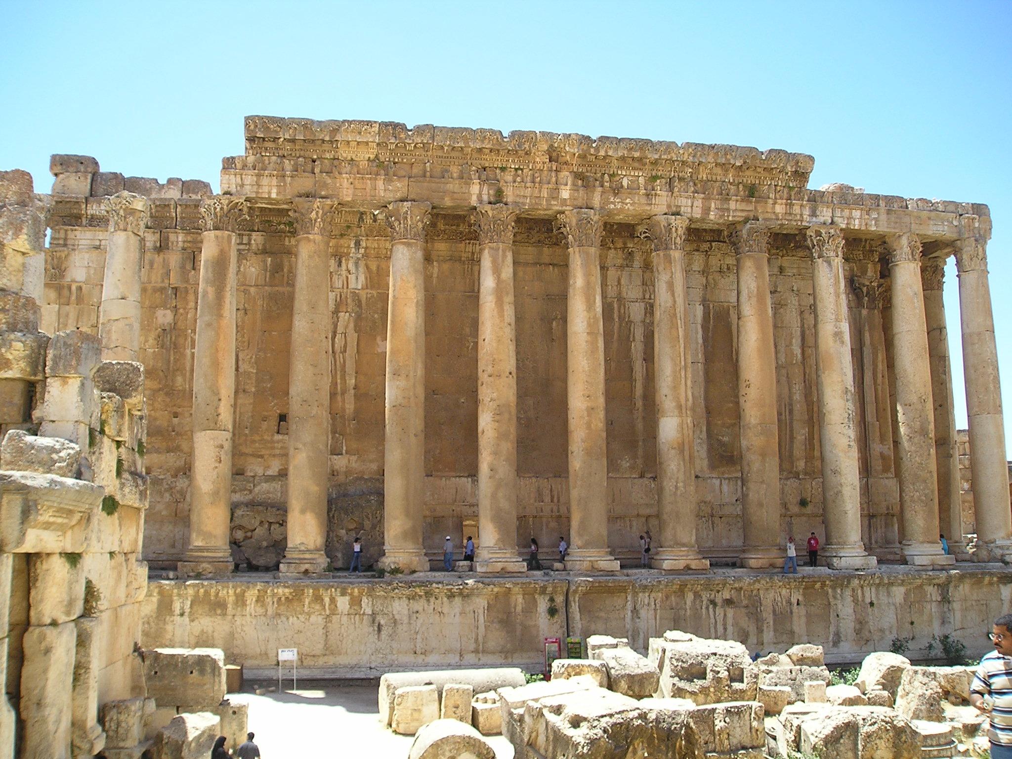 Baalbek Bacchus Temple