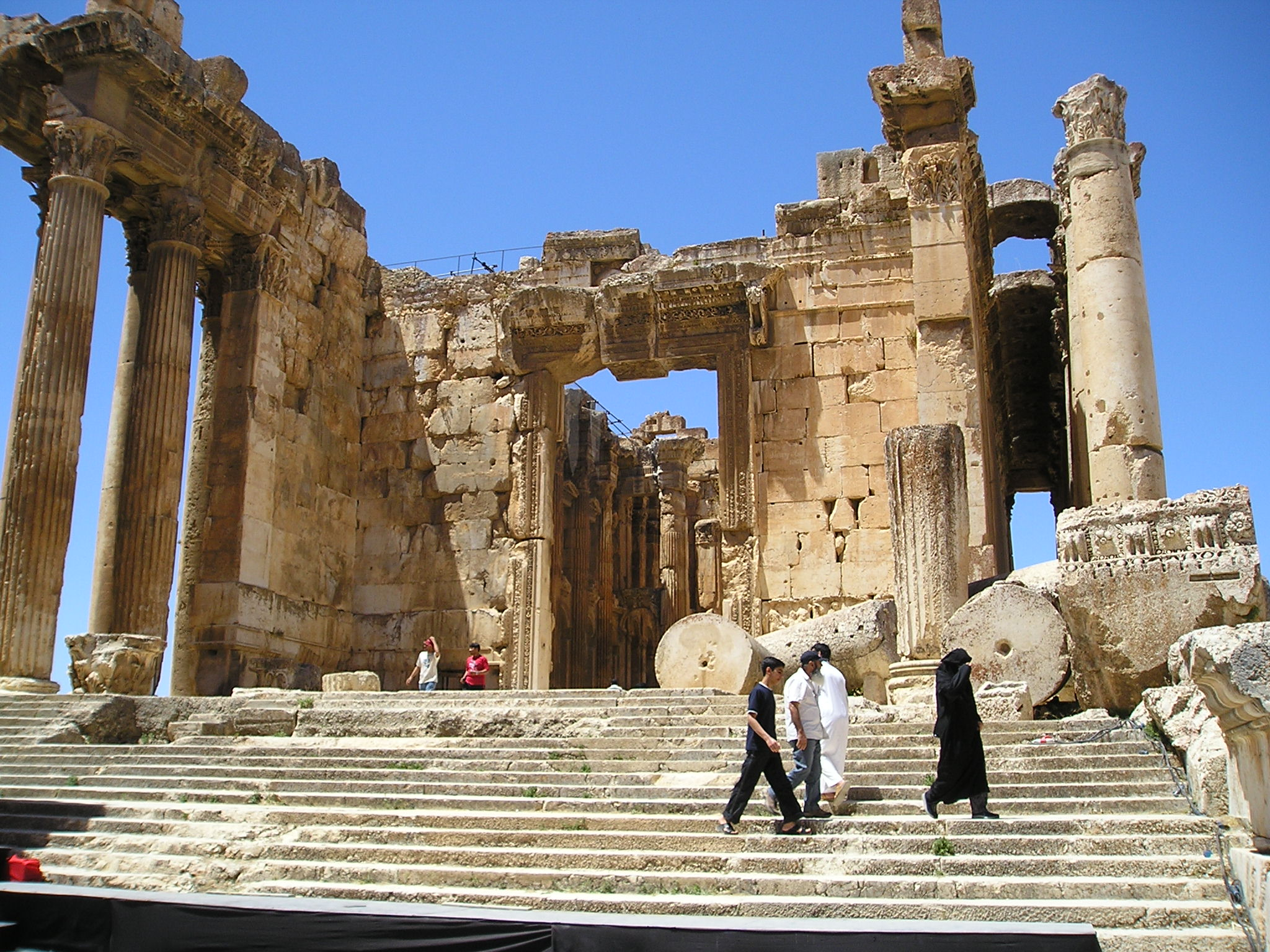 Baalbek Bacchus Temple Entrance