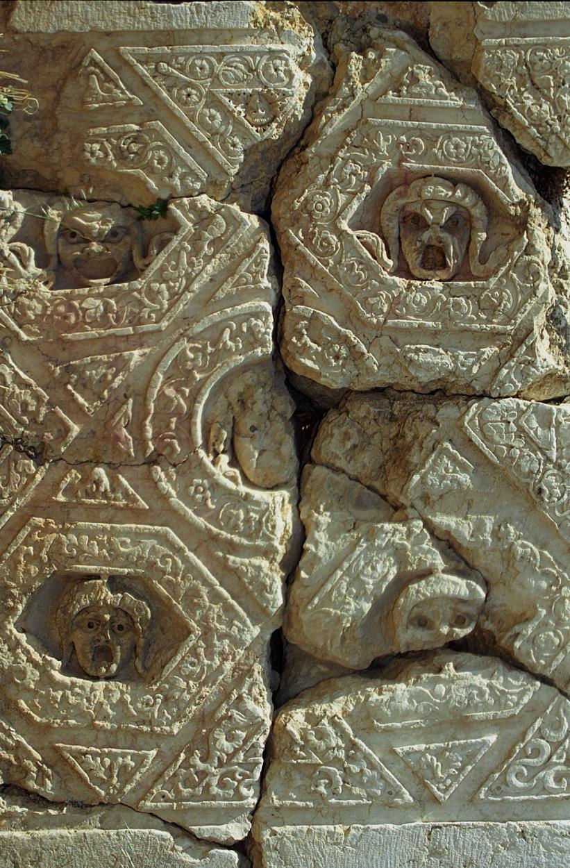 Baalbek Ceiling Details