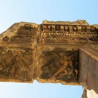 Baalbek Closeup of Lintel Bacchus Temple 200x200 Baalbek