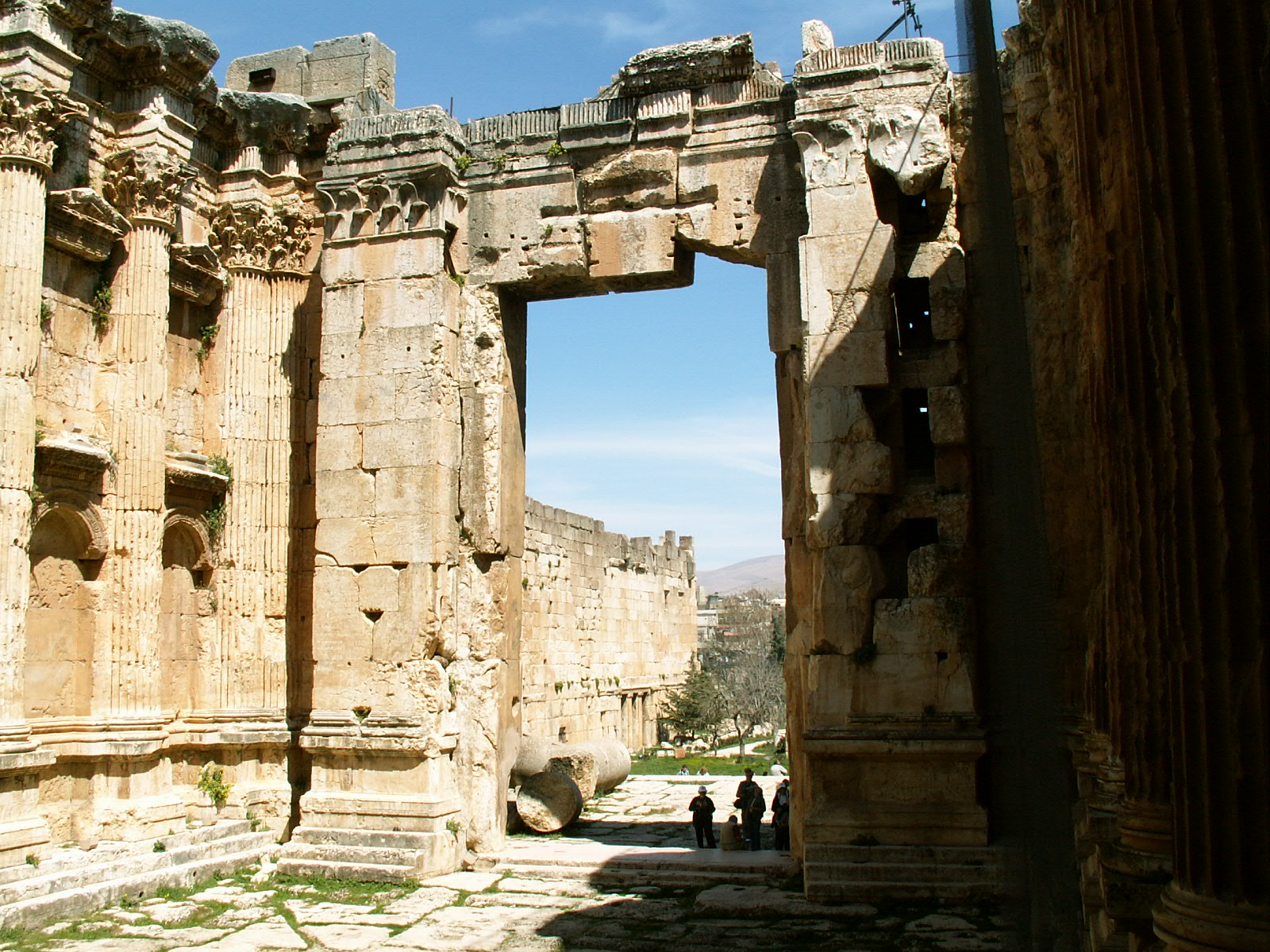 Baalbek Courtyard Ancient Mystery