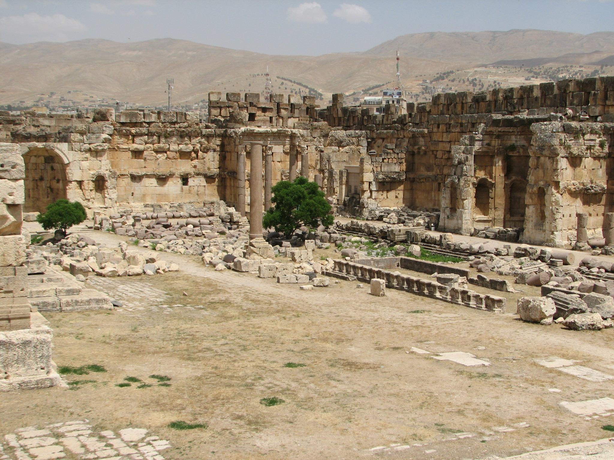 Baalbek Courtyard Ruins