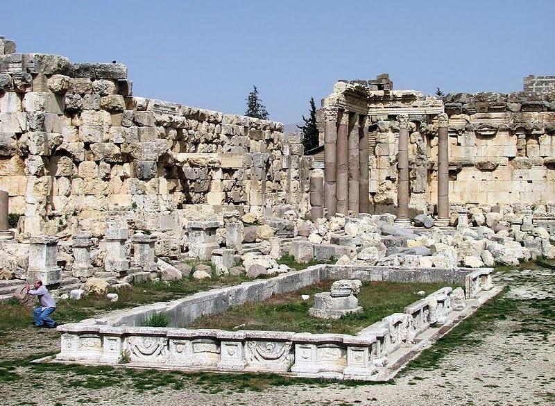 Baalbek Courtyard
