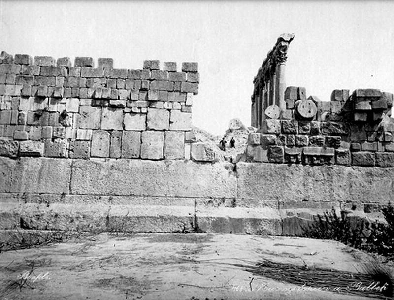 Baalbek Foundation Megaliths