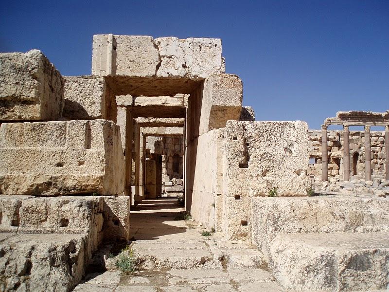 Baalbek Hallways