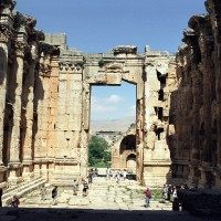 Baalbek Interior Temple of Bacchus 200x200 Baalbek