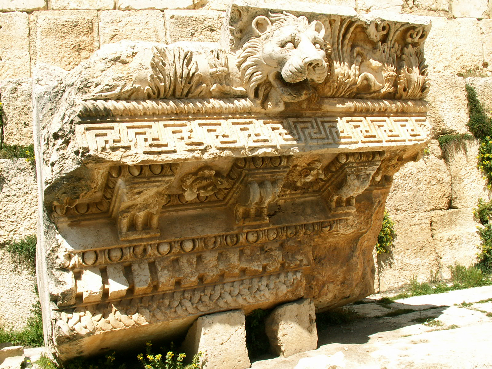 Baalbek Lion Head Waterspout Ancient Engineering
