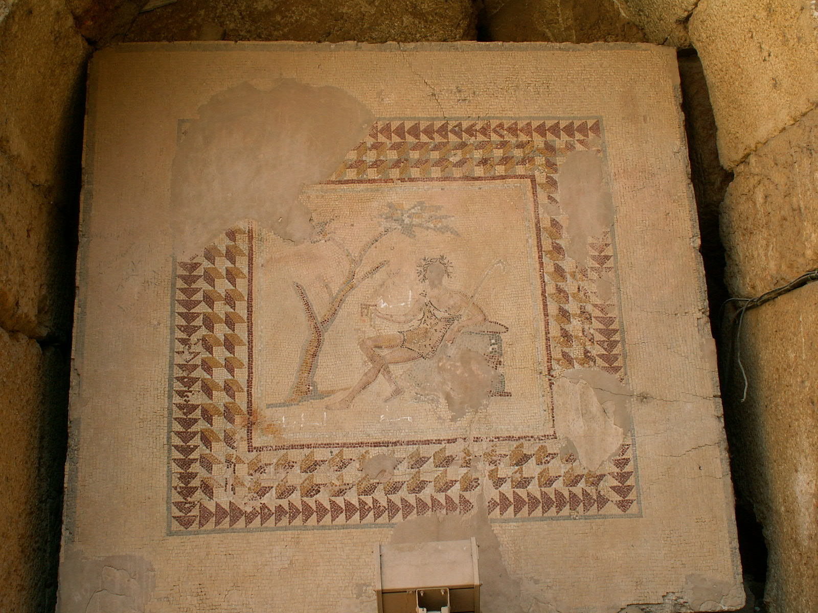 Baalbek Mosaic of Bacchus Under a Tree