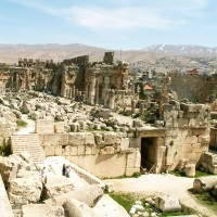 Baalbek Ruins from Above 200x200 Baalbek