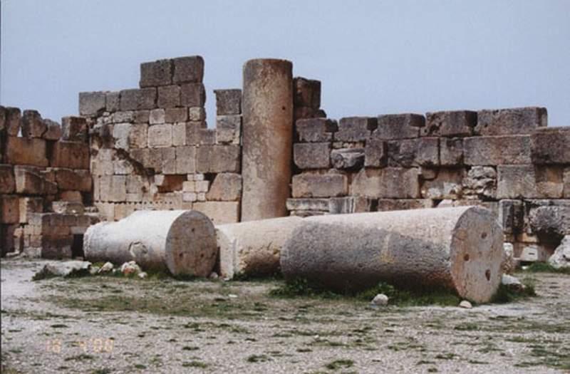 Baalbek Ruins of Columns