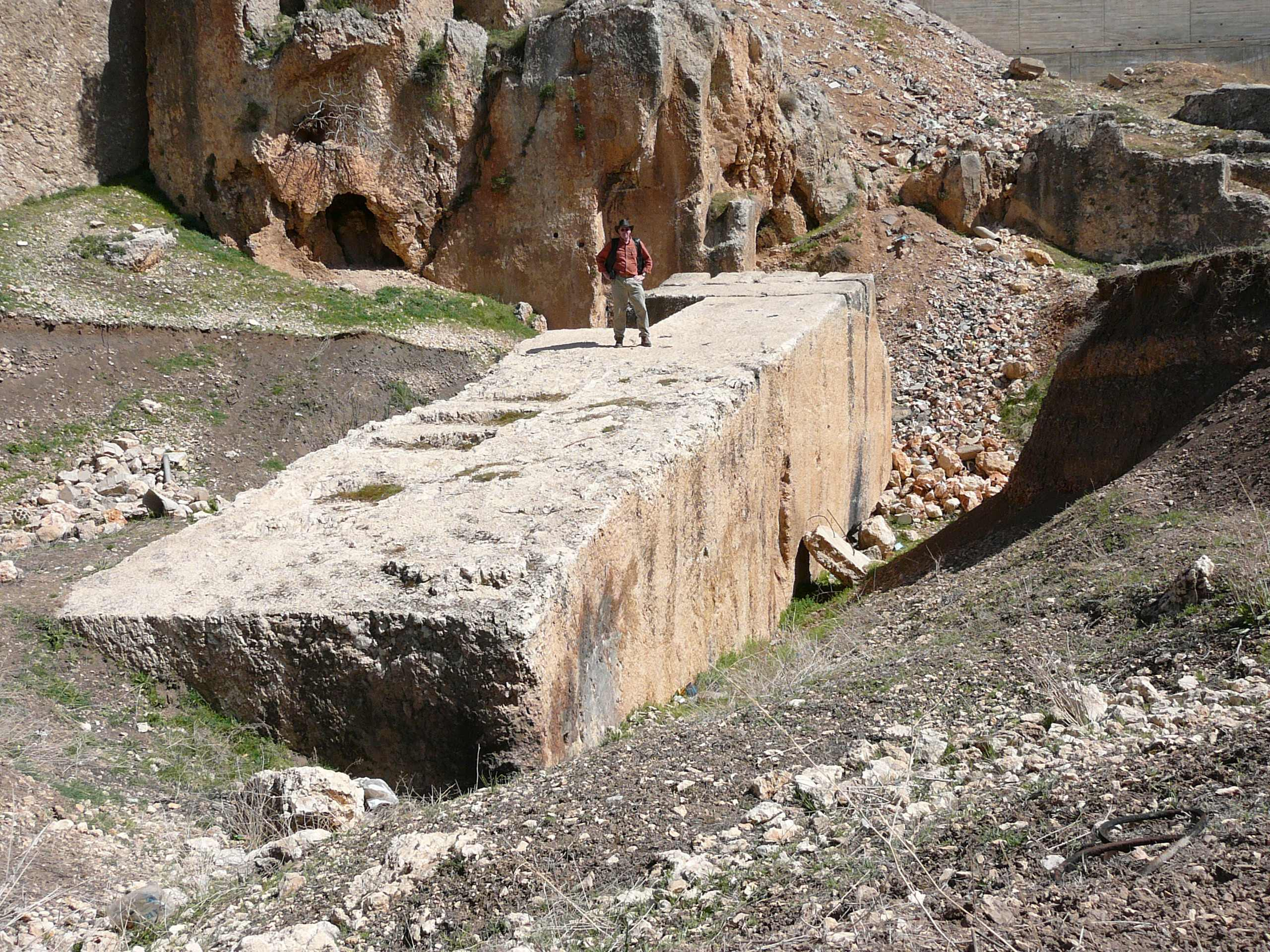 Baalbek largest stone megalith