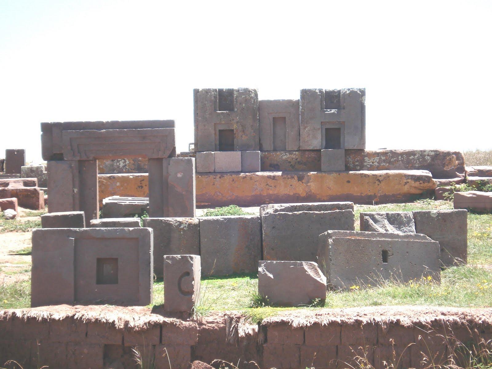 Bolivia, Pumapunku City Ruins