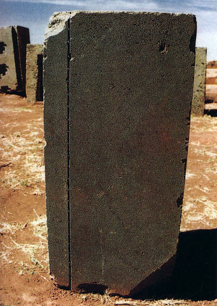 Bolivia Pumapunku Machine Cut Stone Megalith
